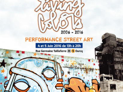 Ourcq Living Colors 2016, le festival de street art