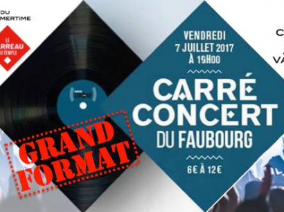 Carré-concert au Carreau du Temple