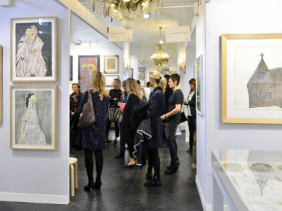 Outsider Art Fair 2017 à l'Hôtel du Duc