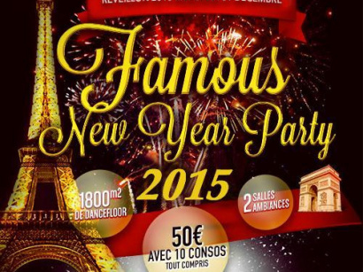 FAMOUS NEW YEAR PARTY 2015