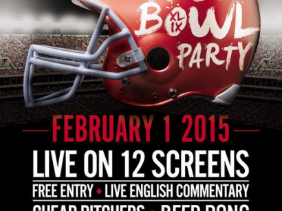 Paris's Biggest Superbowl Party XLIX 2015