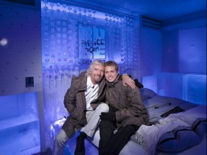 HOTEL KUBE ICE ROOM - Richard et Sam Branson