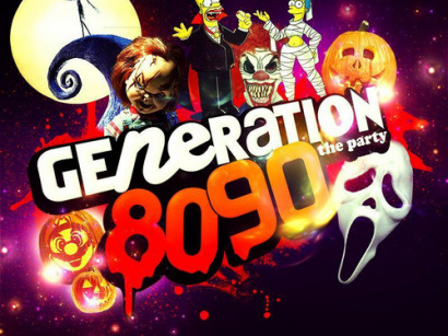 Generation 80-90 en Mode Halloween