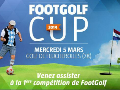 FootGolf CUP 2014 au Golf de Feucherolles