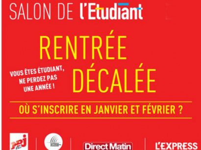 Salon de l 39 etudiant 2018 la porte de versailles for Salon de l etudiant nice