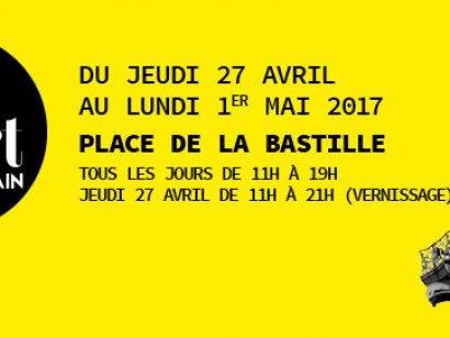 Grand Marché d'Art Contemporain 2017 à la Bastille