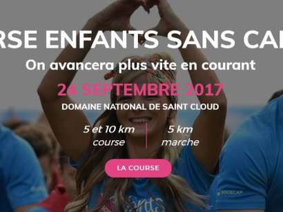 "Course ""Enfants Sans Cancer"" 2017 au Domaine National de Saint-Cloud"