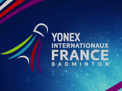 Yonex Internationaux de France de Badminton 2018 à Paris Coubertin