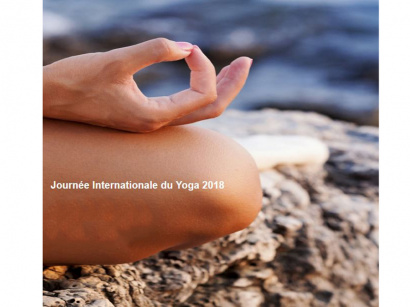 Journée internationale du yoga 2018 au Parc de la Villette