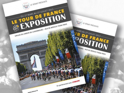 Le Tour de France s'expose au Sénat