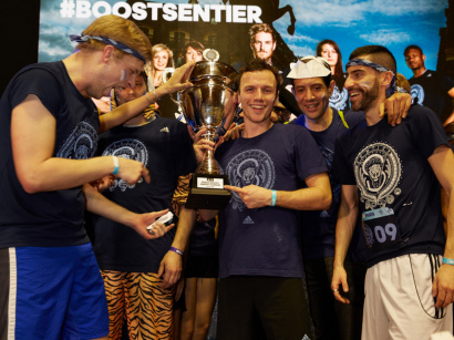 La Team #BoostSentier remporte la ADIDAS BOOST ENERGY LEAGUE