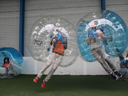 Le Bubble Football, un version déjantée du foot !