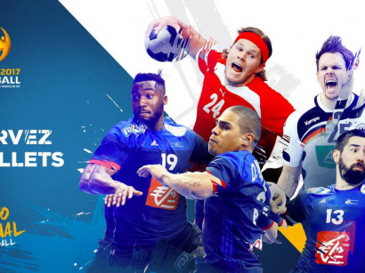 La Coupe du Monde de Handball 2017 à Paris !