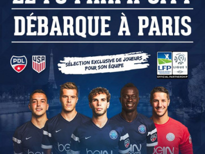Une détection de talents du FC Miami City à Paris !
