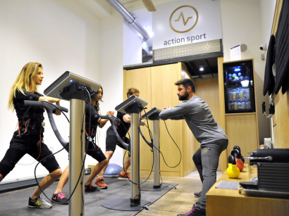 Le Miha Bodytec au studio Action Sport
