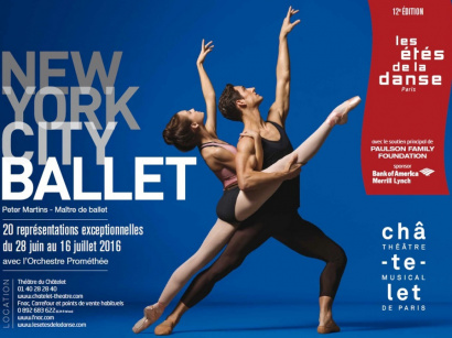 Les étés de la danse / NEW YORK CITY BALLET