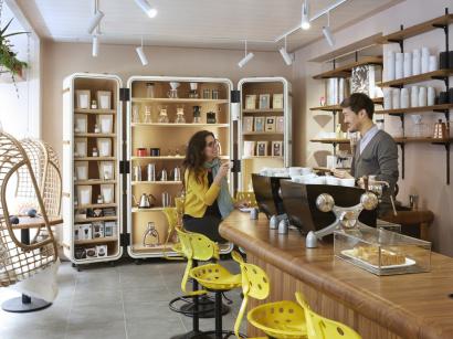 magnum ouvre un bar glace ph m re paris. Black Bedroom Furniture Sets. Home Design Ideas