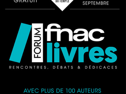 Le Forum Fnac Livres au Carreau du Temple