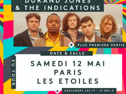 Durand Jones & The Indications en concert aux Etoiles en mai 2018