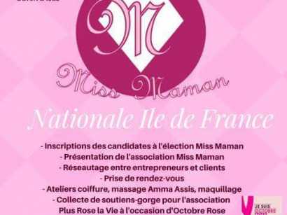 Miss Maman nationale Île-de-France au Val d'Europe