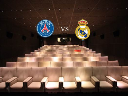 Match retour PSG - Real Madrid au Royal Monceau