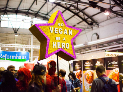 Salon Veggie World au 104 en avril 2018
