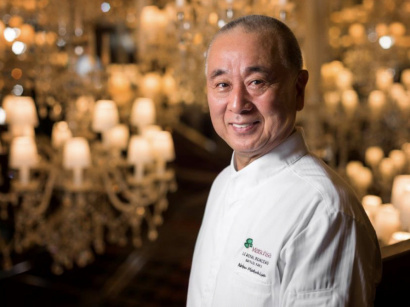 Sushi Class et menu d'exception avec le chef Nobu Matsuhisa au Royal Monceau