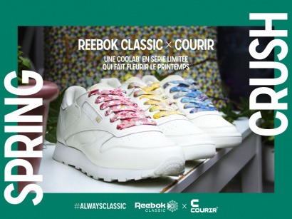 Spring crush by Reebok x Courir : la nouvelle collab mode du printemps !