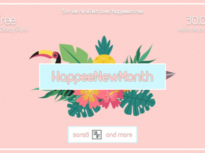 HappeeNewMonth #1 - Fruit your funk aux petites Gouttes