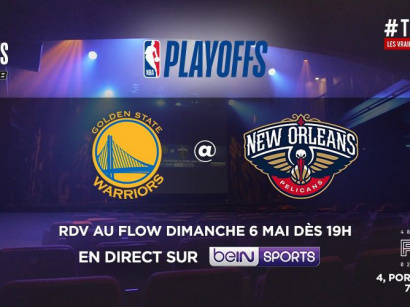 Golden State Warrior vs New Orleans Pelicans : la rencontre de NBA en direct au Flow