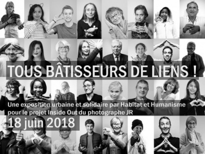 Inside Out : le projet photo de JR au profit de Habitat & Humanisme