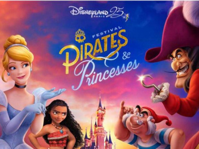 Festival Pirates & Princesses, le rendez-vous du Printemps à Disneyland Paris