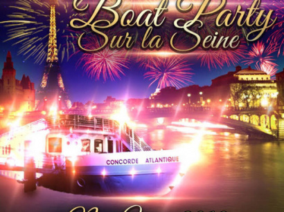 PARIS BOAT PARTY NEW YEAR SUR LA SEINE 2018 ( BATEAU BUFFET FETE )