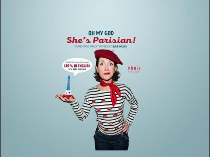 "Julie Collas dans ""Oh My God She's Parisian"""