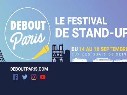 Debout paris, le 1er festival de stand-up à Paris