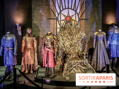 Game of Thrones, les photos de l'exposition 2018 trone