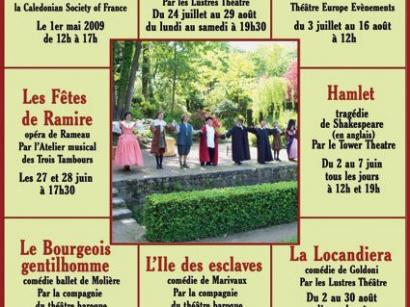 Les myst res de paris - Theatre de verdure du jardin shakespeare pre catelan ...