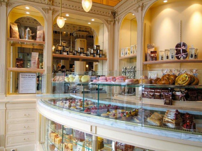 gourmandise, gâteaux, patisserie, magasin