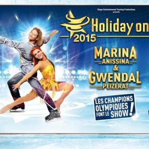 Holiday on Ice 2015 à Paris avec Marina Anissina et Gwendal Peizerat