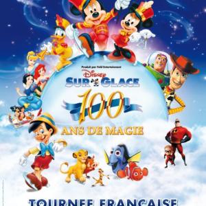 Disney sur Glace 2014 au Zénith de Paris : 100 ans de magie