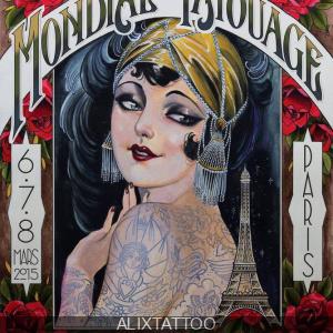 Le Mondial du Tatouage 2015 à la Grande Halle de la Villette de Paris
