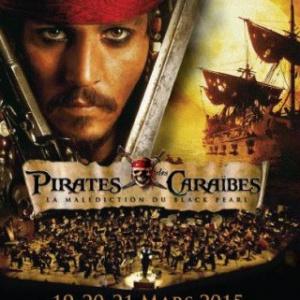 Pirates des Caraïbes en ciné-concert au Grand Rex de Paris en 2015