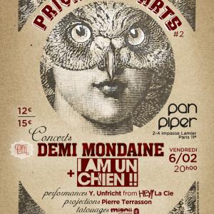 Demi Mondaine et I am un Chien ! en concert au Pan Piper : gagne ta place !
