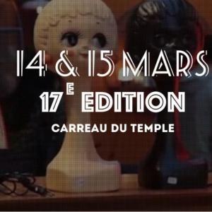 Le Salon du Vintage à Paris au Carreau du Temple