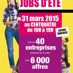 Journées Jobs d'été 2015 au Centquatre (104)