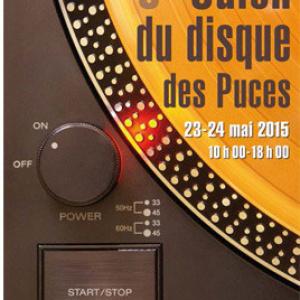 Salon du disque des Puces de Paris Saint-Ouen 2015