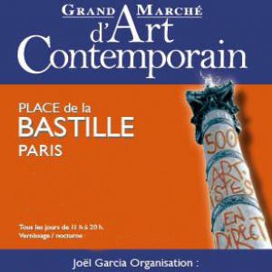 Grand Marché d'Art Contemporain 2013 à la Bastille