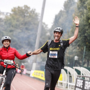 Paris Bike and Run 2017, la course avec 1 vélo pour 2 !