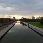 Paris : Une piste éphémère installée entre le canal de l'Ourcq et La Villette