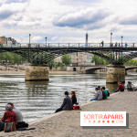 Visuel Paris quai de Seine, pont des arts